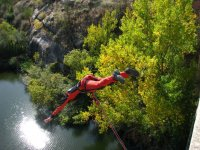 Bungee jumping in Fregeneda