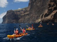 Kayak route in Los Gigantes, 2 hours