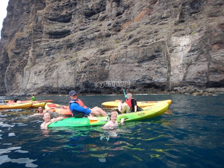 Incredible route in Los Gigantes