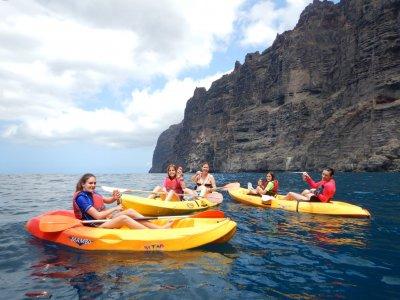 Avistamiento de cetáceos y kayak en Los Gigantes