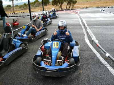 Carrera de karting en Almorox. Adultos