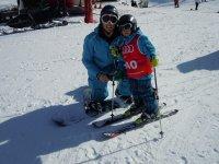 私人滑雪课程,内华达山脉,2 小时