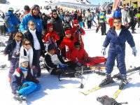 强化滑雪课程,南内华达州,十二月桥