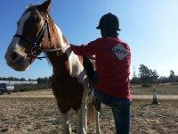 骑马课在ElRocío