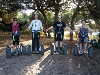 Segway routes along the Piedras River, 75 minutes