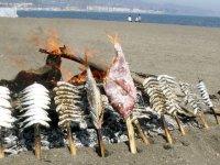 Espetos con sardinas