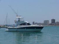 Barco de pesca en Velez