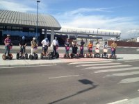 Segway tour in the Port of Málaga  (15-30 minutes)