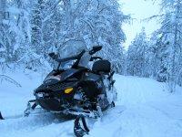 La moto de nieve