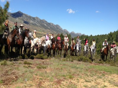 3 days Guadalupe route at horseback