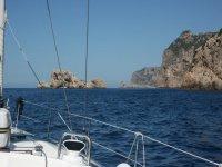 navegando por los acantilados