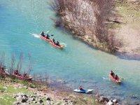 Kayak en aguas bravas, Charco del Aceite, 4h.