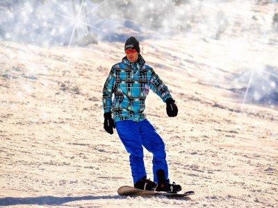 2 horas de clase de snowboard en La Masella