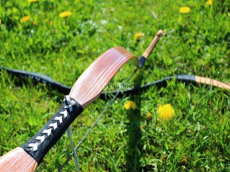 Probar el tiro con arco