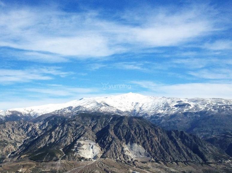Sierra Nevada and the Lecrín valley