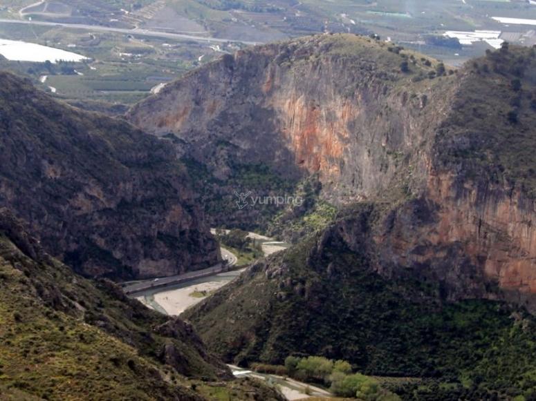 Tajo de los Vados canyon