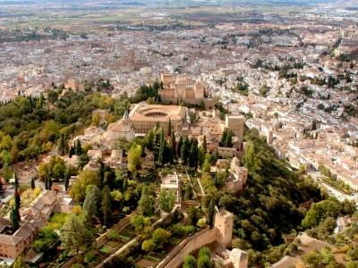 Vuelo helicóptero lo mejor de provincia de Granada