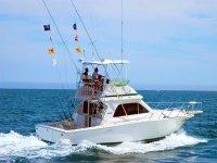 Embarcacion lista para la pesca