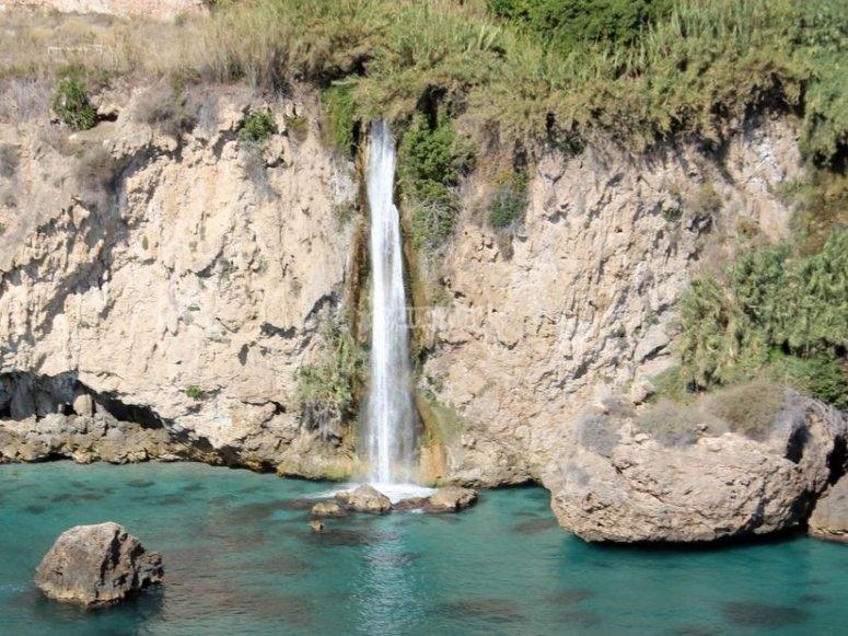 Waterfall in Maro
