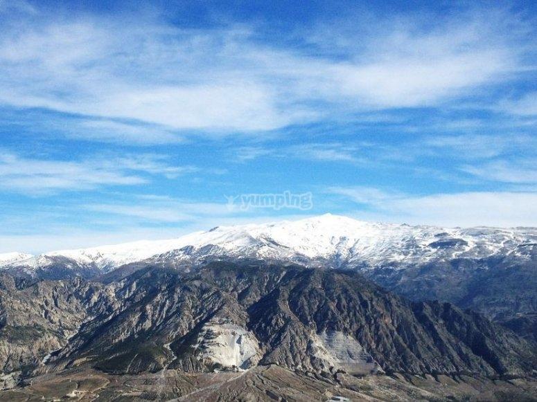 Sierra Nevada and Lecrín valley