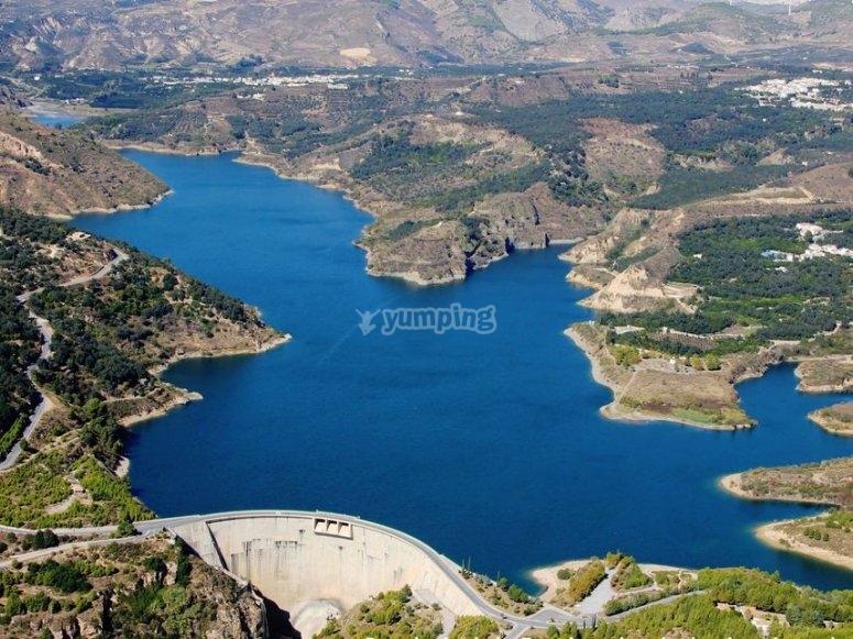 Béznar reservoir