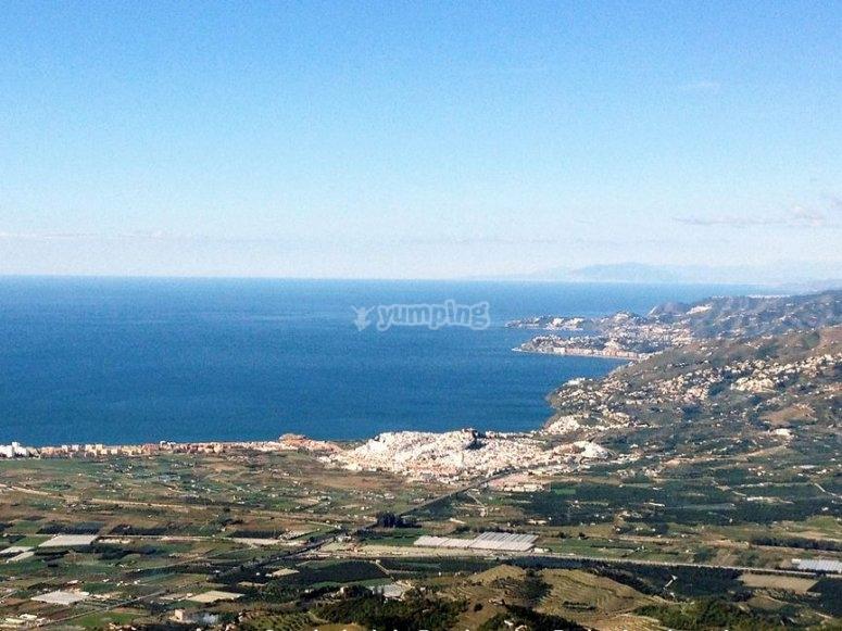 Granada's shores