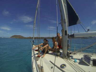 Isla de Lobos的独家航线,6小时