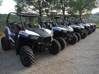 Flota de buggies Polaris RZR 900