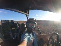 Selfie en el buggy