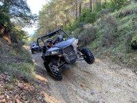 Poniendo el buggy a dos ruedas