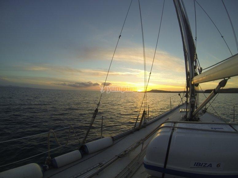Navegando hacia el horizonte