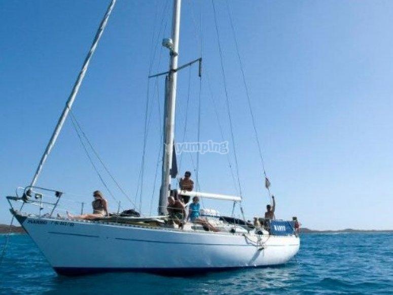 壮观的帆船