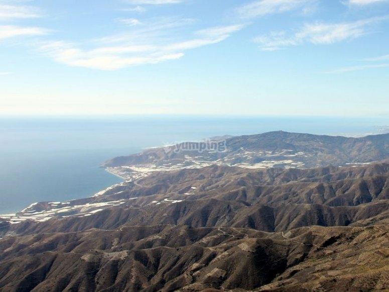 Contraviesa mountain range