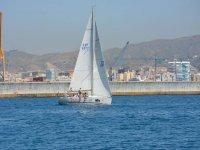 Barco en Málaga