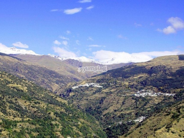 Mountain range's views