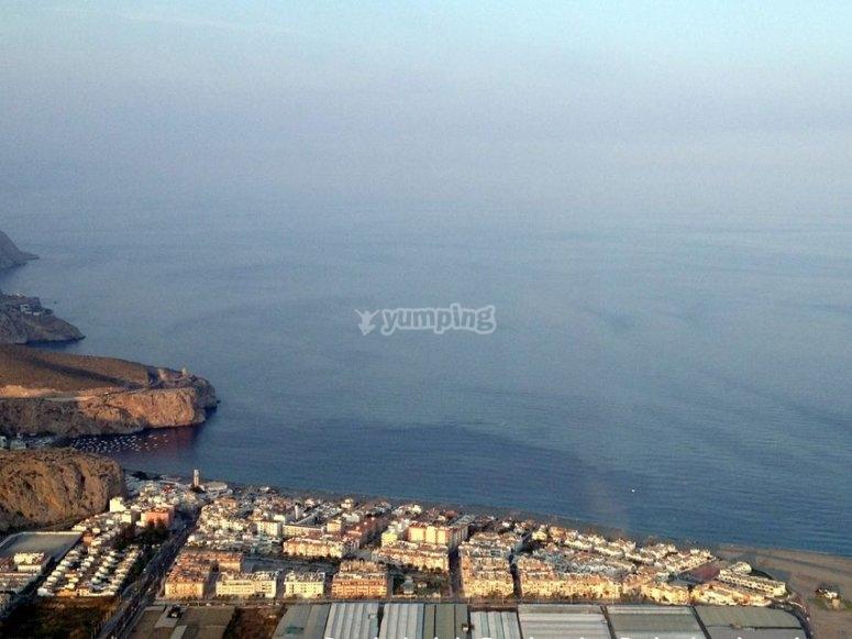 Calahorra cliff