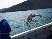 Baño en el Mediterráneo