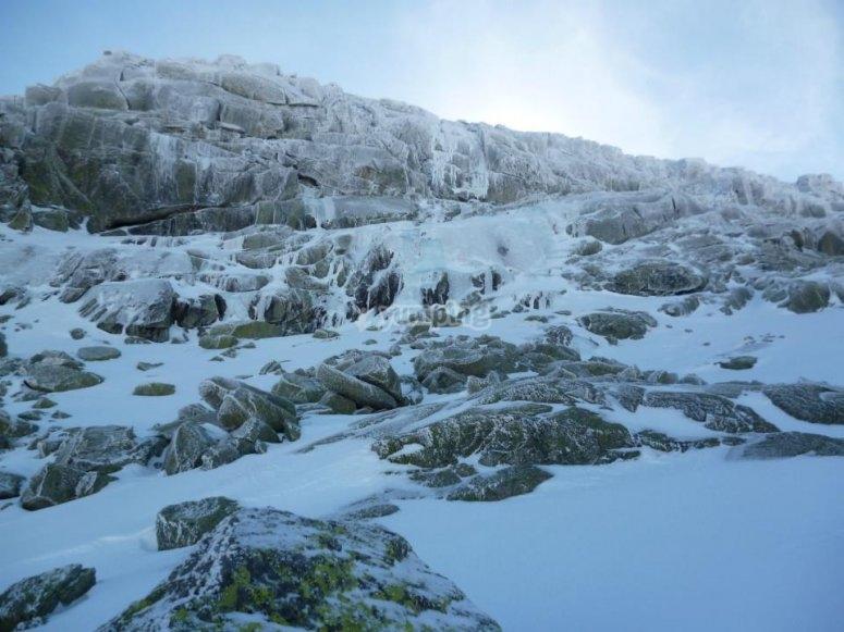 Neve a Gredos