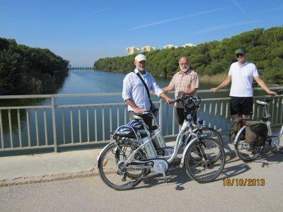 Ruta de la Albufera en bici eléctrica y paella