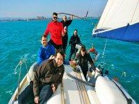 Aprendiendo a navegar en el Mediterráneo