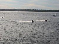双摩托车水上摩托的朋友回旋质量自行车摩托水