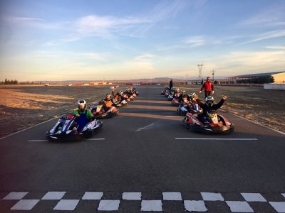 Tanda de karting junior en Zuera 10 minutos