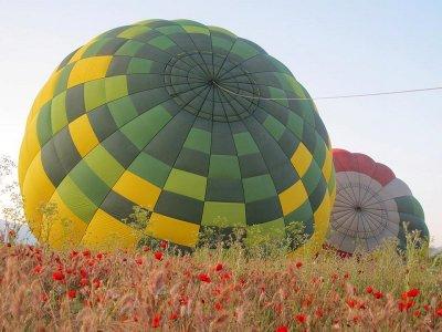 Paseo en globo Ocaña con desayuno vídeo y fotos