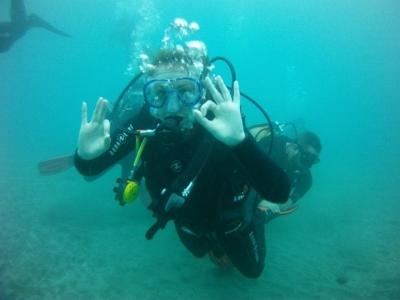 Inmersión de buceo en Arona con traslado