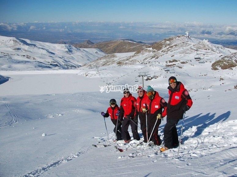Preparados para el esqui