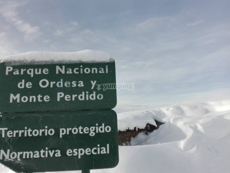 Route through Ordesa and Monte Perdido in 4x4