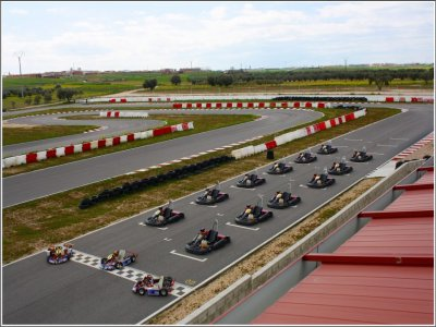 Karting Race, adults, Fuensalida, Toledo, 10min