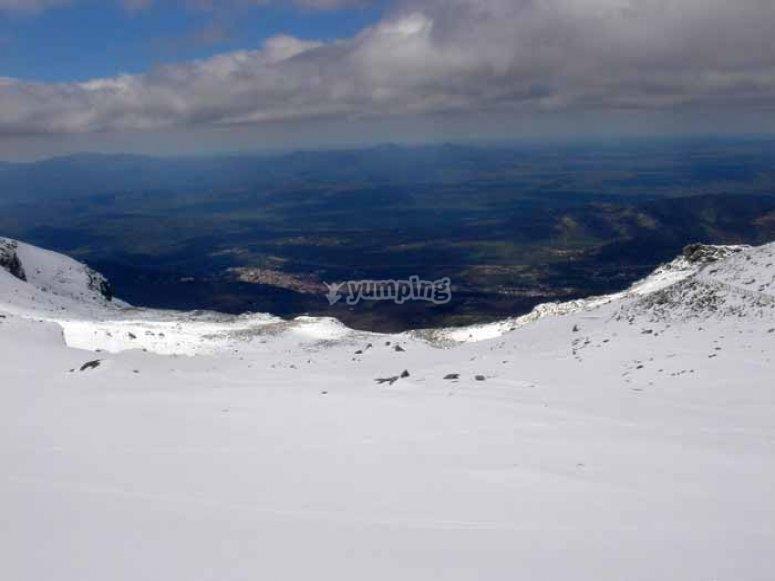 Racchette da neve a Salamanca