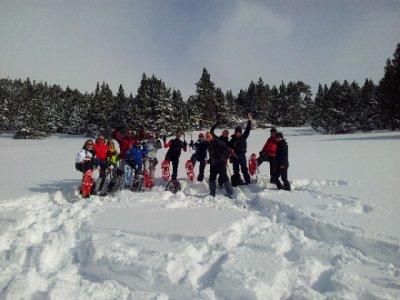 Raquetas de nieve + merienda y fotos,Salamanca, 4h
