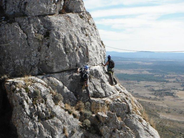 Auto-rescate en escalada
